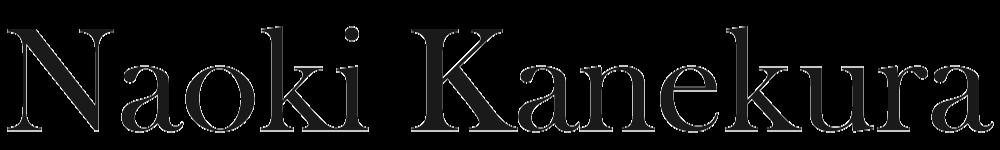 NAOKI KANEKURA-金藏直樹- Website